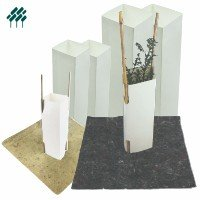 Cardboard Milk Carton Tree Guard Products Field's Environmental Solutions