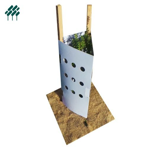 Cardboard Tree Guards Field's Environmental Solutions