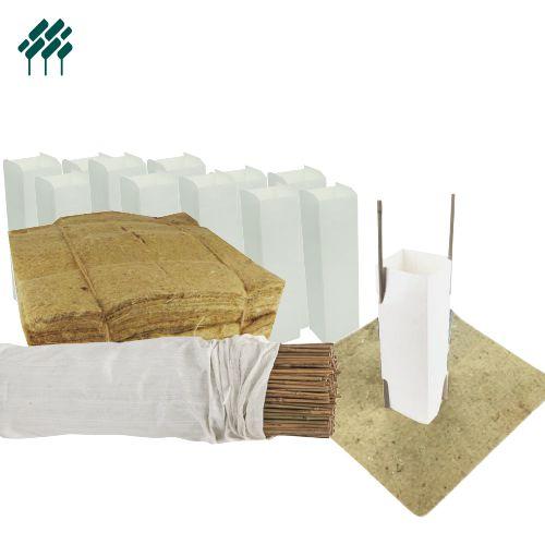 Milk Carton Tree Guards 1 Litre Field's Environmental Solutions